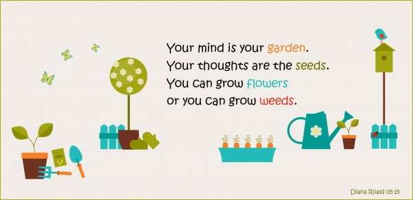 Your Mind Is Your Garden by Diana Roald 07-15