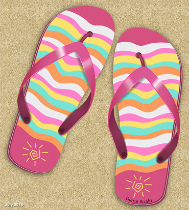 Create a Flip Flop Icon