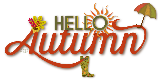 Hello Autumn made by Diana Roald Sept 2018